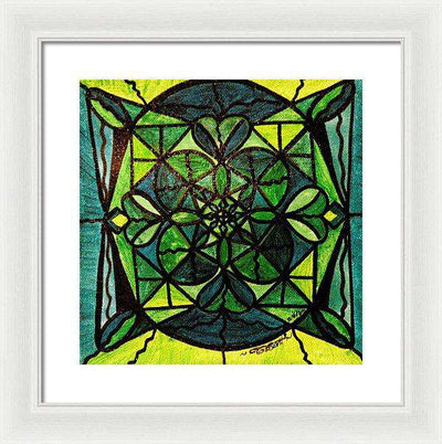 Green - Framed Print