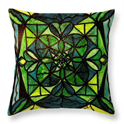 Green - Throw Pillow