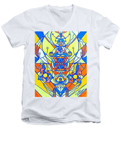 Happiness Pleiadian Lightwork Model - Men's V-Neck T-Shirt