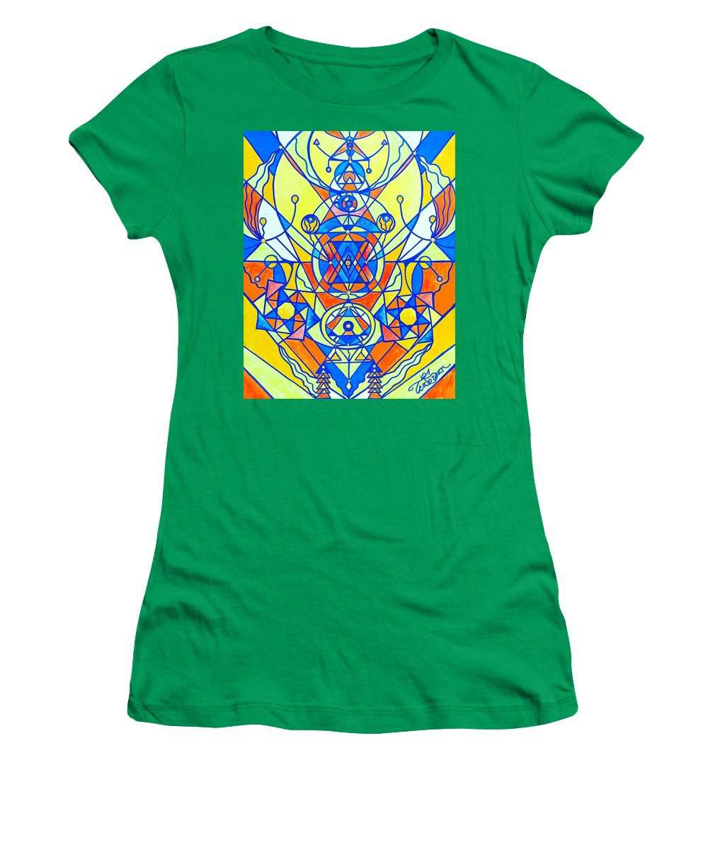 Happiness Pleiadian Lightwork Model - Women's T-Shirt