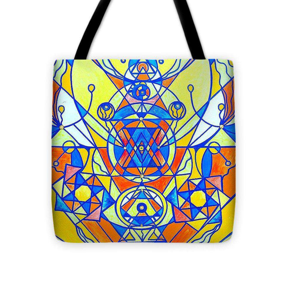 Štěstí Plejádský Lightwork Model - Tote Bag