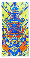 Happiness Pleiadian Lightwork Model - Beach Towel