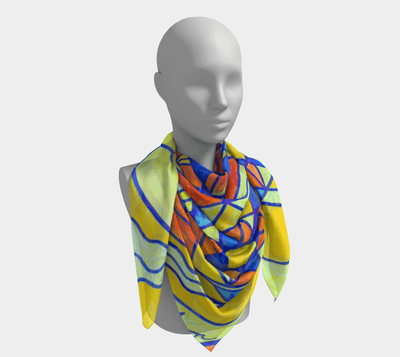 Happyiness Pleiadian Lightwork Model-Frequency Scarf