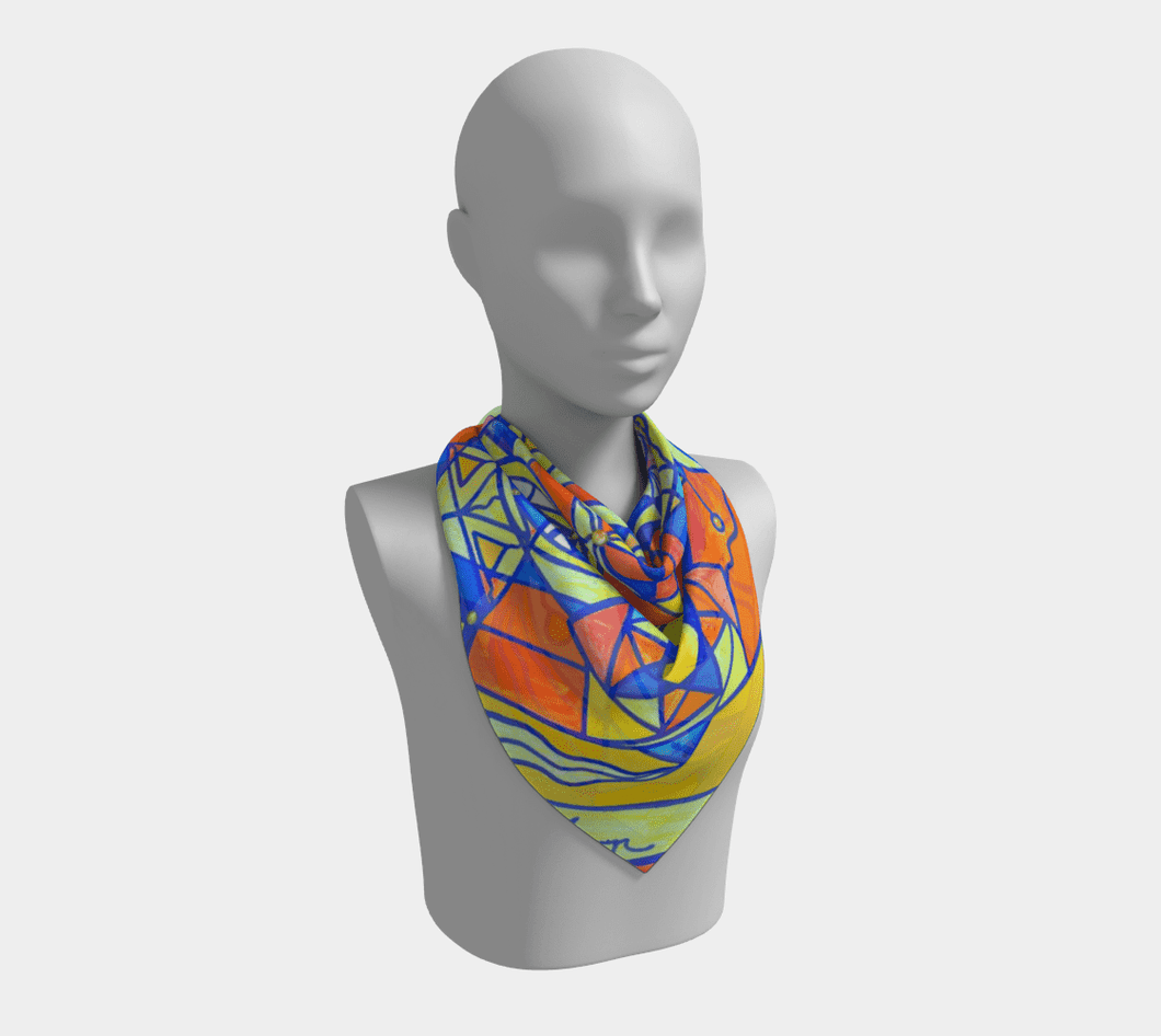 Happiness Pleiadian Lightwork Model - Frequency Scarf