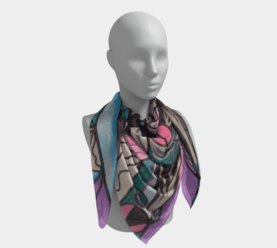 Arcturian Healing Lattice - Frequency Scarf