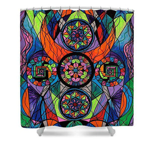 Higher Purpose - Shower Curtain