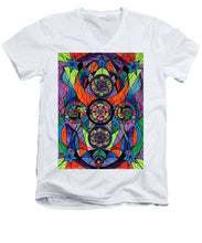 Load image into Gallery viewer, Higher Purpose - Men's V-Neck T-Shirt