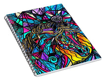Load image into Gallery viewer, Horse - Spiral Notebook
