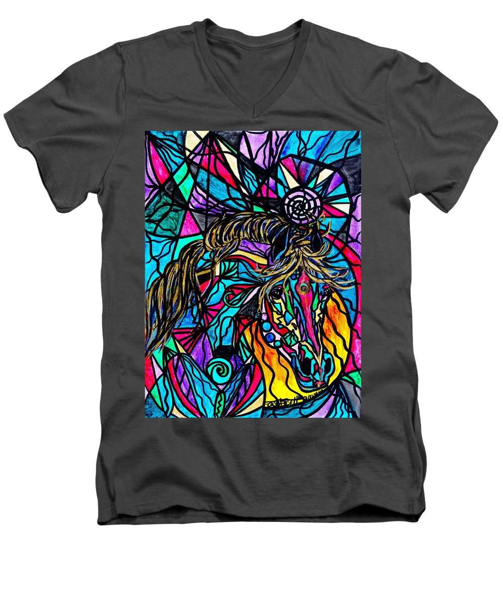 Horse - Men's V-Neck T-Shirt