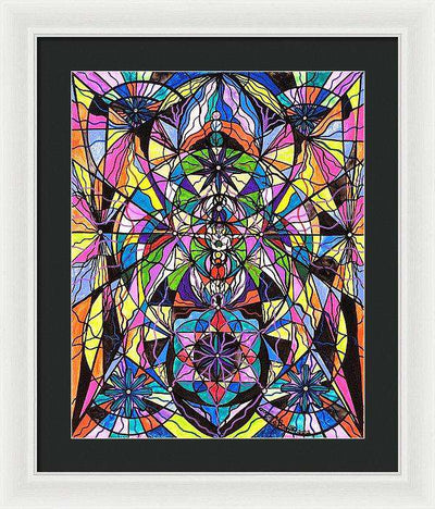 Human Ascension - Framed Print