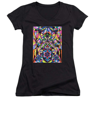 Human Ascension-Women ' s V-Neck