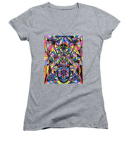 Load image into Gallery viewer, Human Ascension - Women's V-Neck