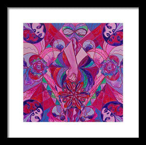 Human Intimacy - Framed Print