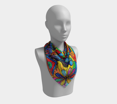 Human Self Awareness - Frequency Scarf