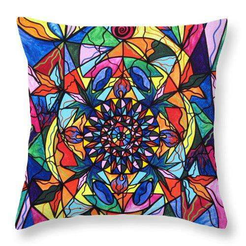 I Now Show My Unique Self - Throw Pillow