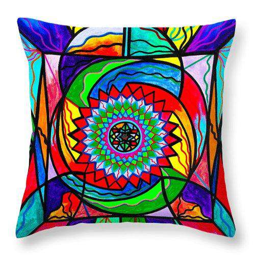 I Trust Myself To Create - Throw Pillow