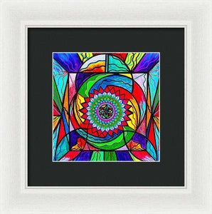I Trust Myself To Create - Framed Print