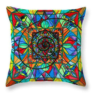 Improvement - Throw Pillow
