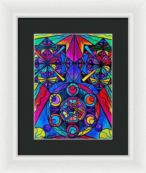 Integrity  - Framed Print