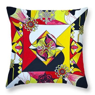 Interdependence - Throw Pillow