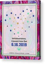 Load image into Gallery viewer, International Connection Day 2019 Intimacy Border - Acrylic Print