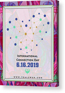 International Connection Day 2019 Intimacy Border - Acrylic Print