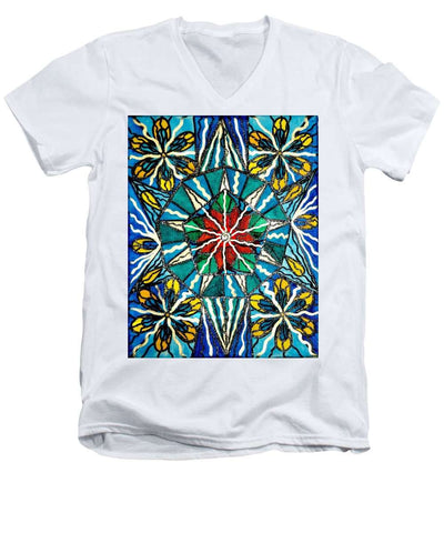 Island - Men's V-Neck T-Shirt