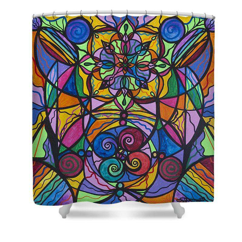 Jovial Optimism - Shower Curtain