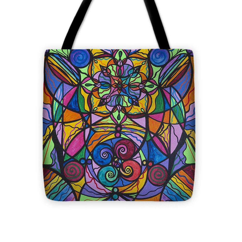 Jovial Optimism - Tote Bag