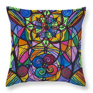 Jovial Optimism - Throw Pillow