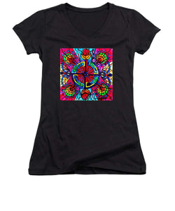 Labyrinth - Women's V-Neck