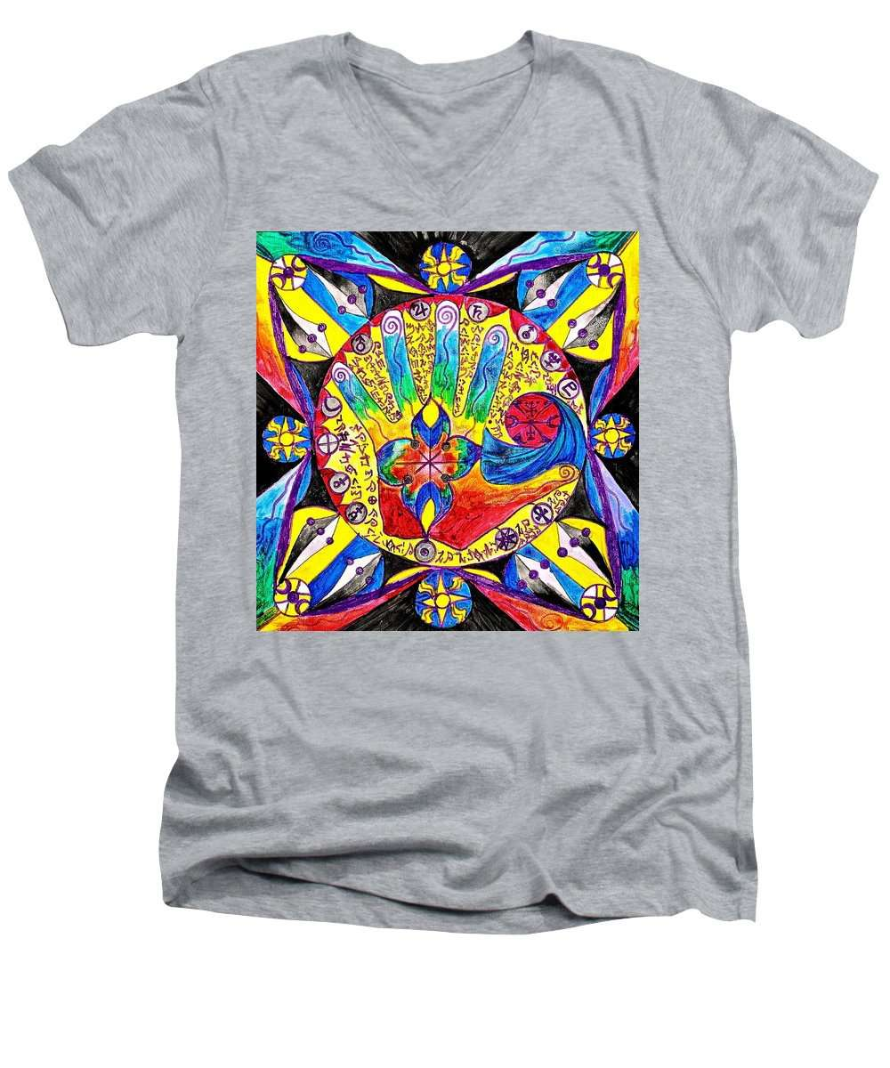 Lemuria - Men's V-Neck T-Shirt