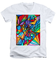 Load image into Gallery viewer, Lyra - Men's V-Neck T-Shirt