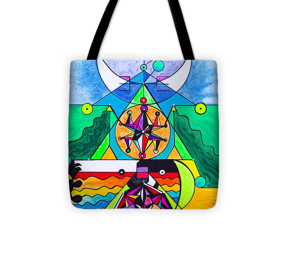 Manifestation Lightwork Model - Tote Bag