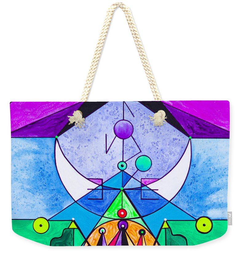 Manifestation Lightwork Model - Weekender Tote Bag