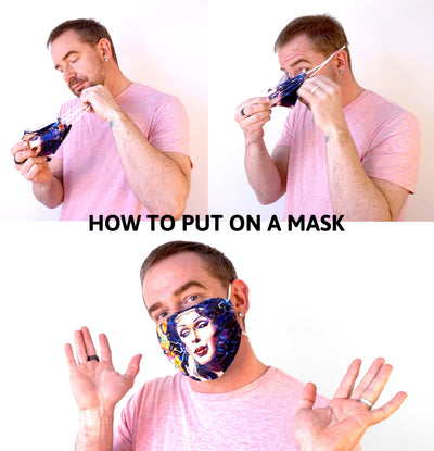 Transforming Fear - Face Mask