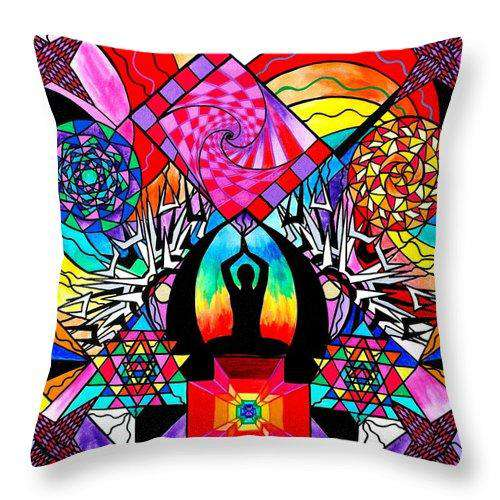 Meditation Aid - Throw Pillow