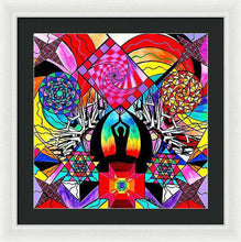 Load image into Gallery viewer, Meditation Aid - Framed Print