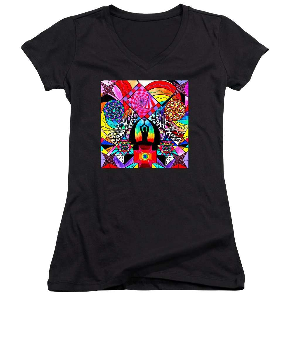 Meditation Aid - Women's V-Neck