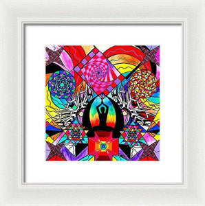 Meditation Aid - Framed Print