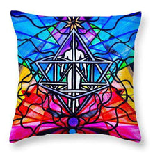 Load image into Gallery viewer, Merkabah - Throw Pillow