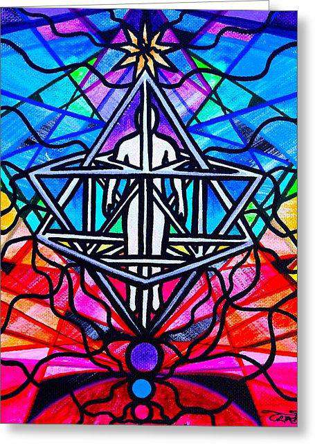 Merkabah - Greeting Card