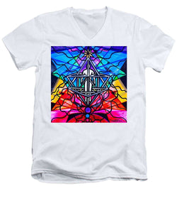 Merkabah - Men's V-Neck T-Shirt