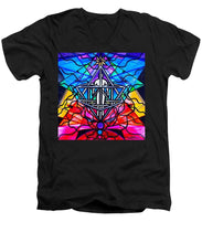 Load image into Gallery viewer, Merkabah - Men's V-Neck T-Shirt