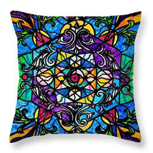 Mermaid Fable - Throw Pillow