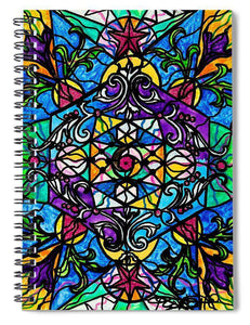 Mermaid Fable - Spiral Notebook