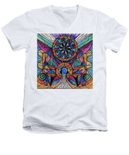 Load image into Gallery viewer, Moving Beyond - Men's V-Neck T-Shirt