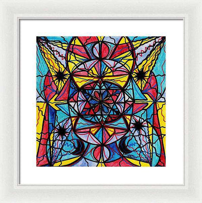 Open To The Joy Of Being Here - Framed Print