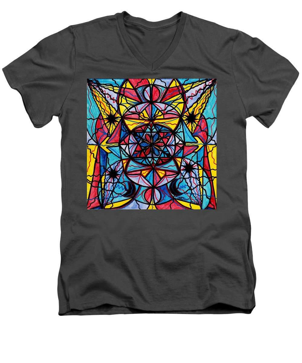 Open To The Joy Of Being Here - Men's V-Neck T-Shirt