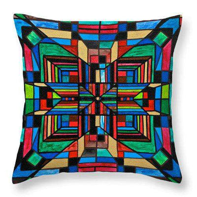 Organization - Throw Pillow
